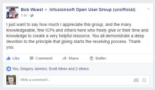 infusionsoft community 1